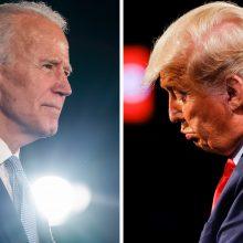 Rinkikai pradėjo balsuoti dėl JAV prezidento