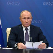 V. Putinas: sunku apkaltinti Turkiją pažeidus tarptautinę teisę Kalnų Karabache