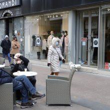 Kroatijoje vėl užfiksuotas mirčių nuo koronaviruso skaičiaus antirekordas