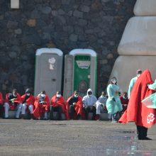 Kanarų salas lapkritį pasiekė rekordinis skaičius migrantų