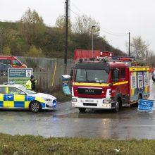 Anglijoje per cheminių medžiagų talpyklos sprogimą žuvo keturi žmonės