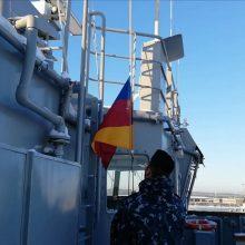 Baltijos karinei jūrų eskadrai BALTRON vadovaus Latvija