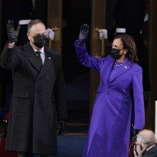 K. Harris prisaikdinta JAV viceprezidente