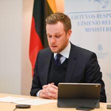 G. Landsbergis: nepriklausomos žiniasklaidos laisvės suvaržymai Baltarusijoje turi būti nutraukti