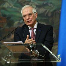 Europarlamentarai kritikavo J. Borrellio vizitą į Maskvą, vadino klaida