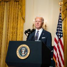 J. Bidenas: JAV pasiryžusios gerinti santykius su Europos Sąjunga