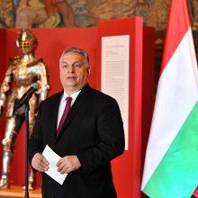 V. Orbanas: žmonių gyvybė ir sveikata yra svarbiau už geopolitiką