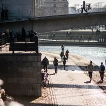 Vokietijoje per savaitę oro temperatūra pakilo daugiau kaip 40 laipsnių