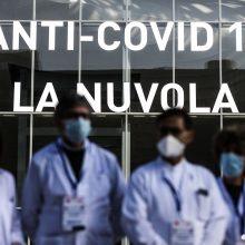 Italijoje – 13 114 naujų COVID-19 atvejų, mirė 246 žmonės