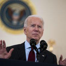 J. Bidenas metams pratęsė sankcijas Rusijai, įvestas dėl Ukrainos krizės