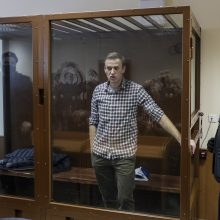 A. Navalnas kalės kolonijoje netoli Maskvos