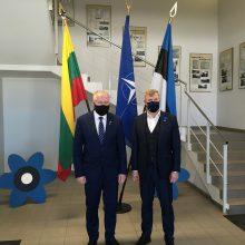 A. Anušauskas: turime ir toliau tvirtai palaikyti Ukrainos teritorinį vientisumą