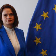 Baltarusijos opozicijos lyderė susitiks su Baltųjų rūmų atstovais