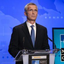 NATO įspėja Talibaną netrukdyti evakuacijai