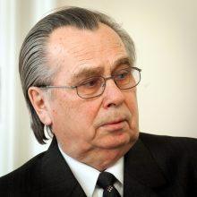 Mirė buvęs ministras A. Vapšys