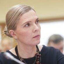A. Bilotaitė kreipėsi į prokuratūrą dėl SAM darbuotojų veiksmų