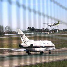Lietuvoje išaugo bendras ir tranzitinių skrydžių skaičius