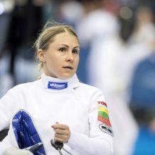 Penkiakovininkė L. Asadauskaitė pasaulio taurės etape Vengrijoje liko 18-a