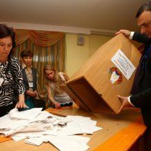 Baltarusijoje nuo rinkimų kampanijos pradžios areštuoti 125 žmonės