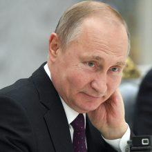 V. Putinas: Rusija nekelia grėsmės nė vienai savo kaimynei