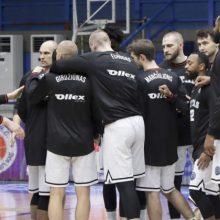 """""""Ryto"""" krepšininkai neatsilaikė Graikijoje"""
