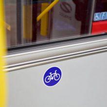 Vilniuje autobusuose bus galima vežti paspirtukus ir dviračius