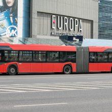 Pilaitės prospekte – eismo pakeitimai, laikina 32 autobusų maršruto trasa