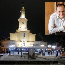 Ukrainos miesto meras pasiūlė paslaugą – pasimylėjimą miesto rotušėje