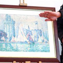 Prancūzijoje pavogtas 1,5 mln. eurų vertės paveikslas buvo aptiktas Ukrainoje