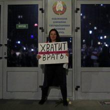 Minsko radijo darbuotojai išėjo iš darbo, palaikydami opoziciją