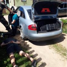Ignalinos rajone sulaikyti kontrabandą gabenę baltarusiai