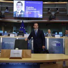 Europos žaliųjų atstovė: V. Sinkevičius nėra mūsų kandidatas, bet turi gerų idėjų