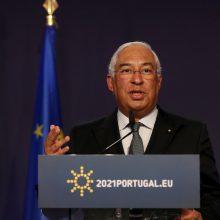 Portugalijai susidūrus su trečia COVID-19 banga, svarstoma apie naują karantiną