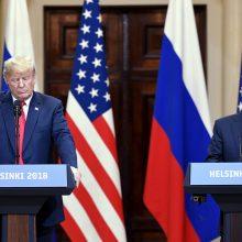 D. Trumpas: pakviesčiau V. Putiną į G-7, bet nežinau, ar jis atvyks