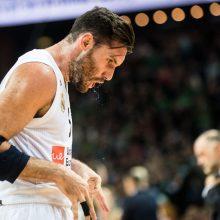 Eurolygos lyderių dvikovą laimėjo CSKA krepšininkai