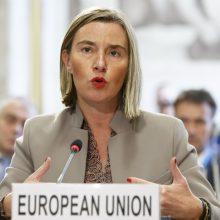 F. Mogherini gina Europos gynybos politikos plėtojimą