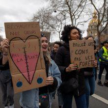 Paryžiuje  40 tūkst. žmonių dalyvavo manifestacijoje kovai su klimato kitimu remti