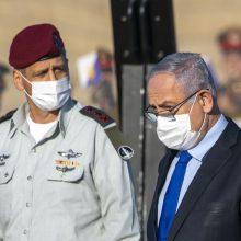 Koronavirusas plinta Izraelio kariuomenėje