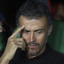 L. Enrique paliko Ispanijos futbolo rinktinės trenerio postą