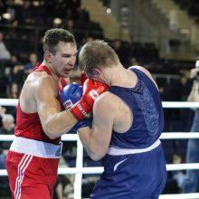 T. Tamašauskas krito Europos čempionato aštuntfinalyje