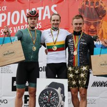 Tarp Lietuvos dviračių kroso čempionų – ir Europos orientavimosi sporto vicečempionė