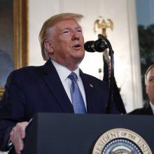 D. Trumpas: JAV atšauks sankcijas Turkijai