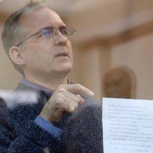 Rusijos teismas ruošiasi pratęsti šnipinėjimu įtariamo amerikiečio suėmimą