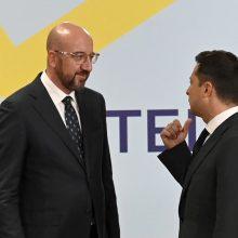 """Per """"Krymo platformą"""" telkiamos pastangos grąžinti pusiasalį Ukrainai"""