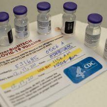 """""""BioNTech"""" ir """"Pfizer"""" žada atstatyti COVID-19 vakcinų tiekimą Europai po 10 dienų"""