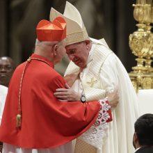 Popiežius paskyrė 13 naujų kardinolų, įskaitant lietuvį S. Tamkevičių