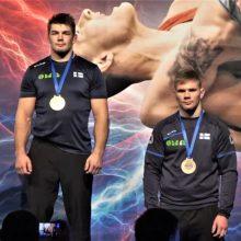 Pirmame šių metų turnyre, kaip iš natų – V. Laurinaičiui sidabro, M. Knystautui bronzos medaliai