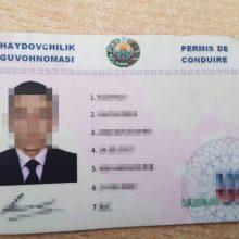 Pasieniečiai sulaikė uzbeką, pateikusį netikrą dokumentą