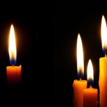 Medikai uždegė žvakutes prie ministerijos dėl nusižudžiusio kolegos