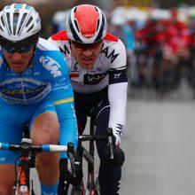 Dviratininkas E. Šiškevičius lenktynėse Kinijoje finišavo 24-as